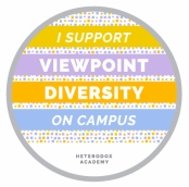 I support viewpoint diversity on campus: Heterodox Academy